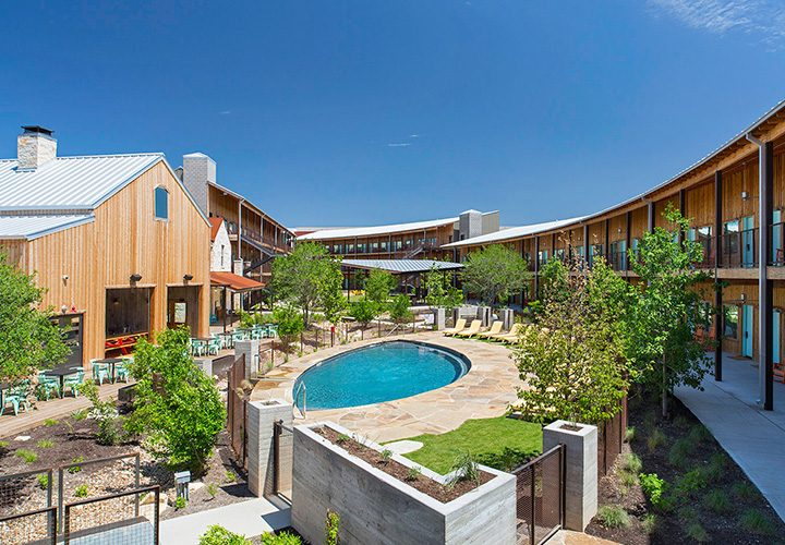 Glamping in Texas with Valencia Group's Court Hotels