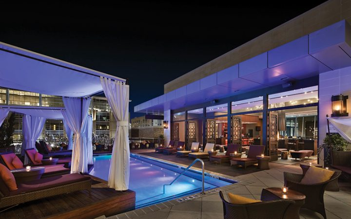 Poolside Style at Valencia Group Hotels