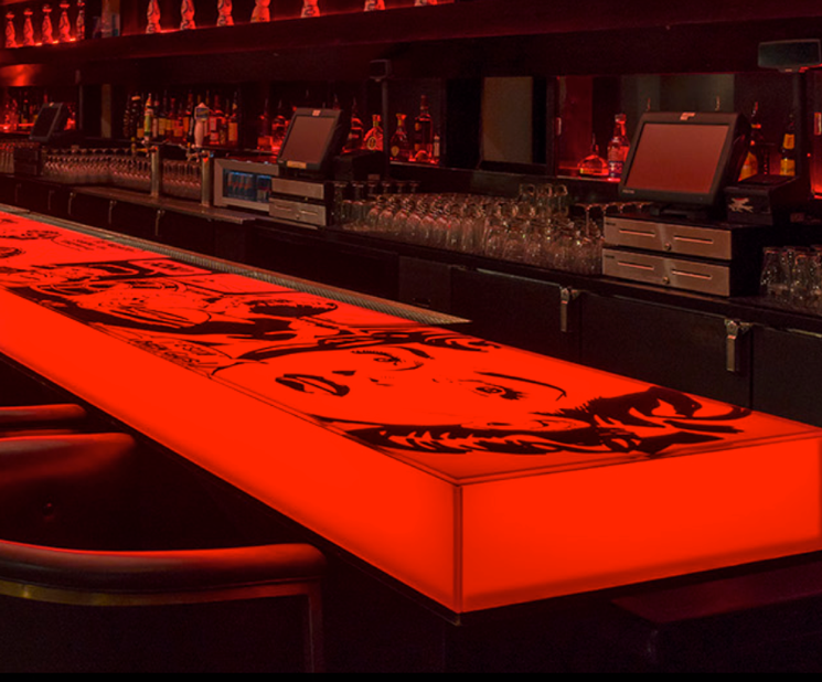 Vbar Red Bar